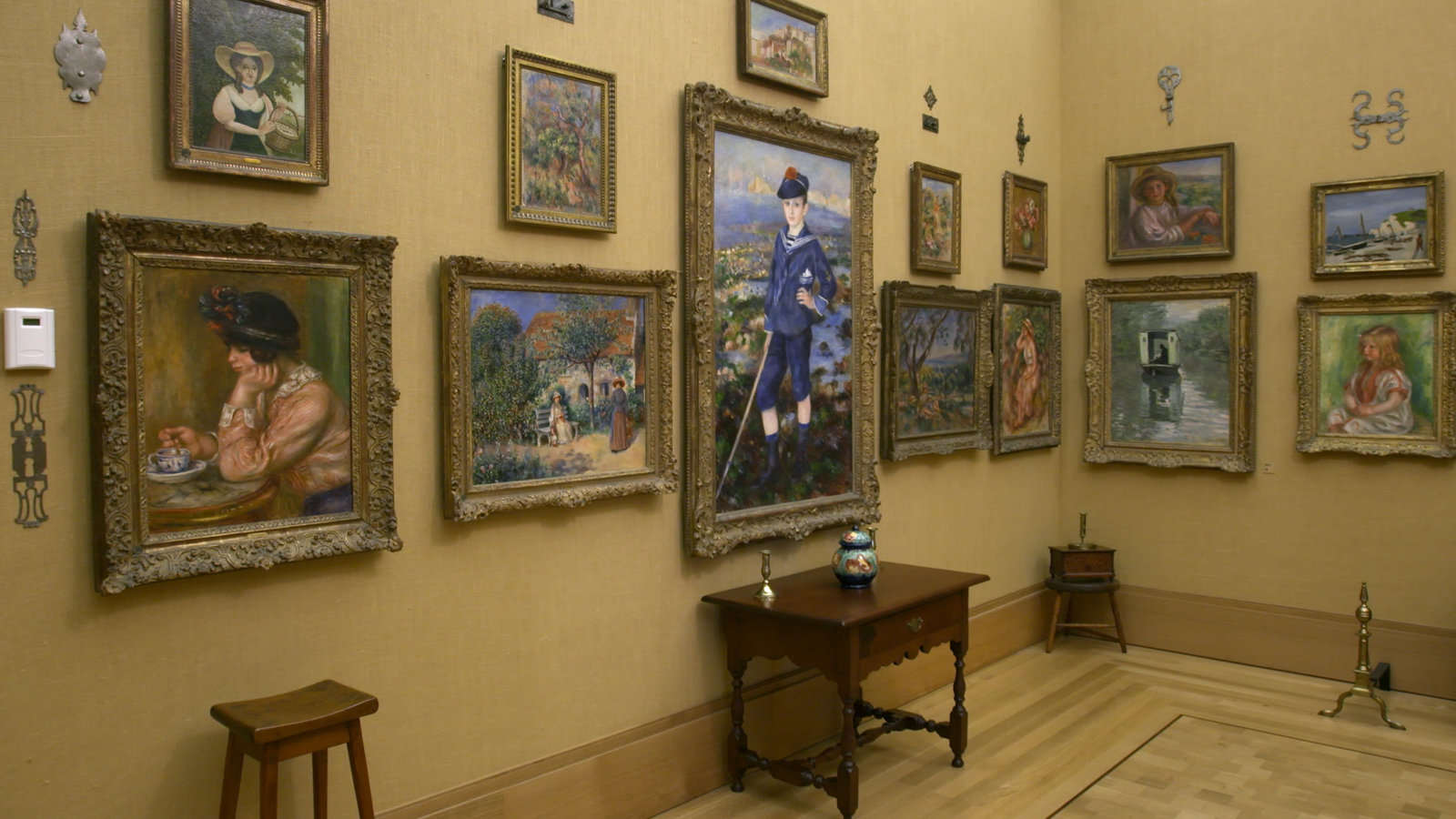 Exhibition on Screen Renoir